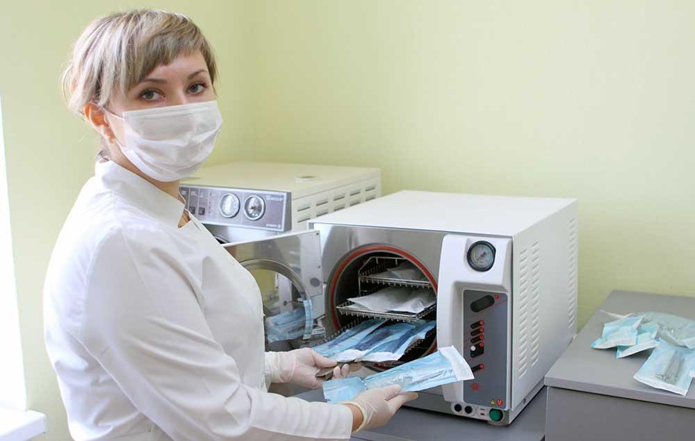 Автоклав для стерилизации стоматологического оборудования